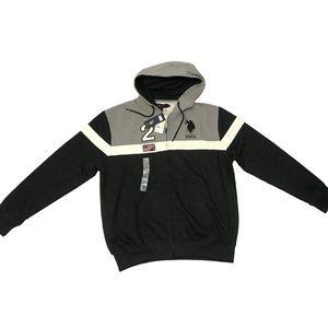 U.S. POLO ASSN. Men's Sweatshirt Hoodie size: M